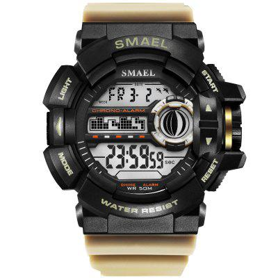 Military Watches Sport for Men SMAEL Male Watch S Shock Resistant Waterproof 1436B LED Digital Wrsitwatches