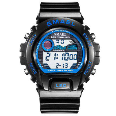 SMAEL Digital Wristwatches Luxury Brand Big Men Clock Cool Sport Watches for 50M Waterproof 0931 Stainless Steel