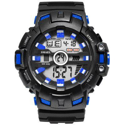 LED Bracelet Digital Waches SMAEL Brand Luxury Clock Men Military Watches Alarm relogio montre1532B Sport Waterproof