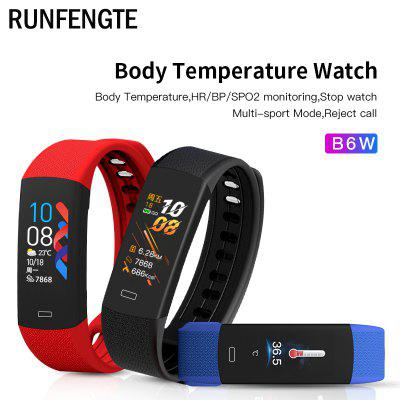 Smart Watch Real-time Body Temperature Oximeter Waterproof Fitness Watch Call Reminder Sport Mode Smartwatch Sport Bluetooth 5.0