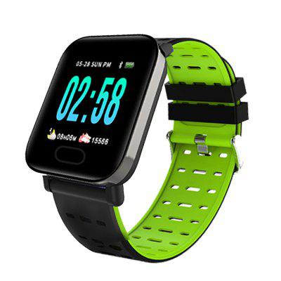 zoneway f2 smart watch mtk6580 android 5 1 1g 16g support gps wifi 3g heart rate monitor smartwatch vs qw09 for ios pk kw88 RUNFENGTE Smart Watch A6 Men Women Heart Rate Monitor Blood Pressure Waterproof Smart Bracelet Smartwatch Clock For IOS Android phones