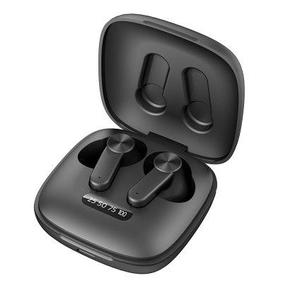 RUNFENGTE True Wireless Earbuds Bluetooth Headphones Touch Control with Charging Case IPX7 Waterproof TWS 500mah Stereo Earphones