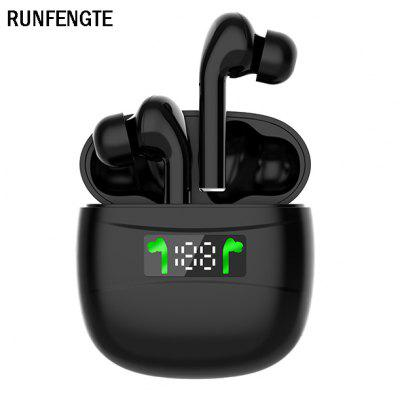 RUNFENGTE Touch Bluetooth Earphone 5.2 Headphones HiFi Stereo Wireless Earphones Sports Noise reduction Headsets 4H Playtimes For All Phone