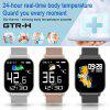 Smart Watches 2020 New SmartWatch Oximeter Thermometer Women Men Bluetooth Call 24-Hour Heart Rate Monitor IP67 DIY Watch Face For Android