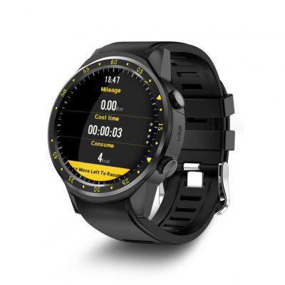 GPS Smart Watch Men With SIM Card Camera F1 Smartwatches Heart rate detection Sport phone connected watch android iOS Clock Image