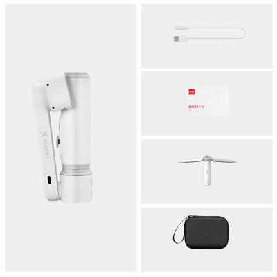Handheld Giabal SMOOTH X Selfie Stick Tripod Smartphone Gimbal Bluetooth Adjustable 2-Axis Stabilizer For Phone Xiaomi IPhone Samsung