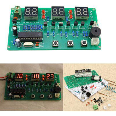 ONEHP Multifunctional Six Digit Digital LED Electronic Clock Kit DIY Parts Beginners Learn Welding Assembly