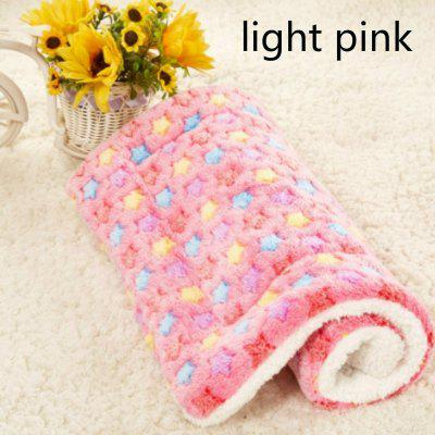 S-XL Three-layer Warm and Thick Pet Blanket Dog Cat Bed Puppy Cushion House Soft Kennel Mat for