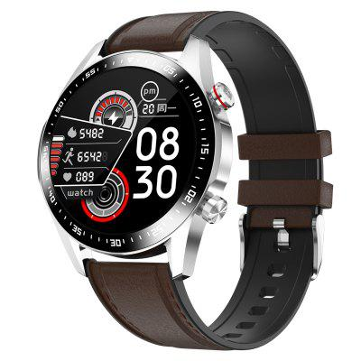 E12 Multi-functional Smartwatch Heart Rate Blood Pressure Oxygen Dual Bluetooth Smart Talk Music Playback Mass Support for Multiple Languages