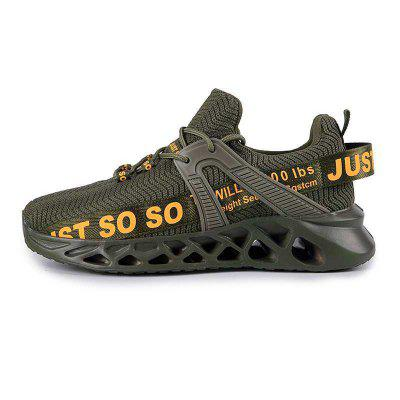 Large Size 36-48 Blade Breathable Sports Casual Shoes Non-slip Cushioning Running Lovers Mesh Upper for Men Women