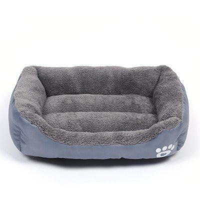 S-3XL Pet Large Dog Beds Soft Warm Cat Bed Cushion Waterproof Bottom Small Chihuahua Husky Sofa For Dogs Cats