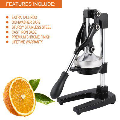Stainless Steel Manual Household Fruit Juicer Pomegranate Hand Press Squeezer
