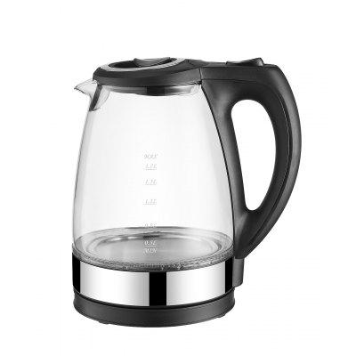 High Borosilicate Glass Automatic Power Off Electric Kettle Teapot US 110V EU 230V UK 240V Small Appliance 1.7L Large Capacity
