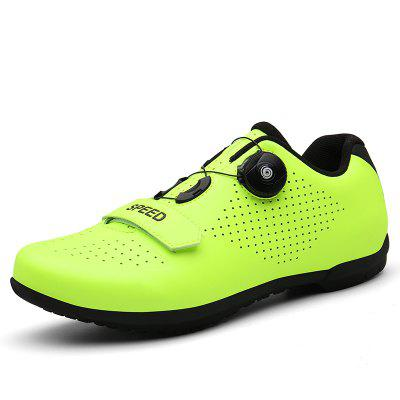 Plus Size 36-46 Men Sneakers Mountain Bike Shoes Waterproof Leather Cycling Carbon Road Lock Professional Athletic Breathable
