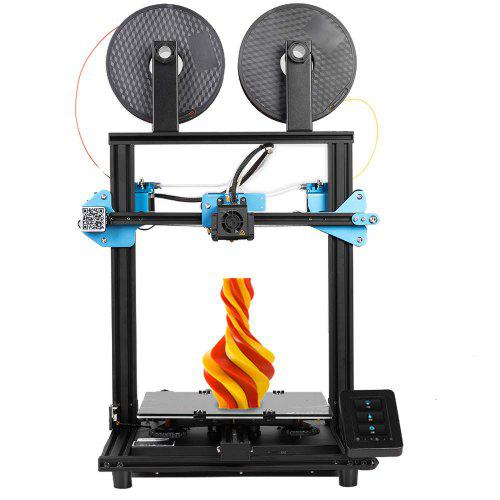 Sovol SV02 3D Printer with All-Metal Dual Extruder Silent Mainboards TMC2208 Drive Meanwell Power Supply 4.3 inch Touchscreen 240 x 280 x 300 mm