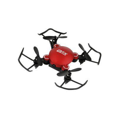 QFXRC Q2 Pocket Mini folding Quadcopter Model Airplane Toy Fixed Height Aerial Photography Remote Control Drone