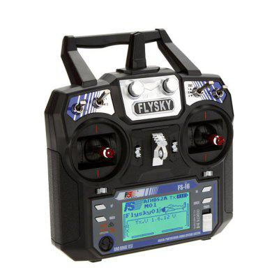 FlySky FS-i6 i6 2.4G 6CH AFHDS RC Radio Transmitter Without Receiver for FPV RC Drone - With Color Box Mode 2 Left Hand Throttle