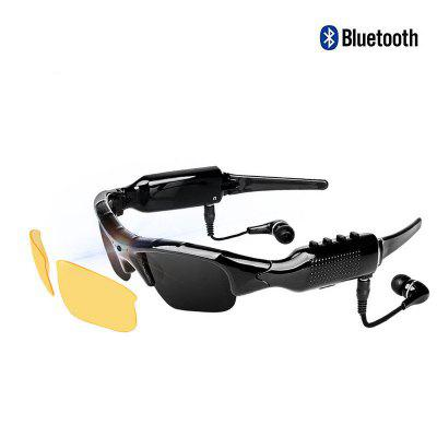 New Stereo Bluetooth Camera Glasses 1080 Riding Sunglasses Smart Headset