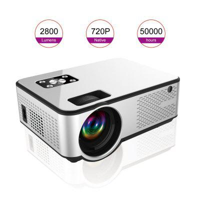 Home Theater Projector Miniature Pportable HD Office