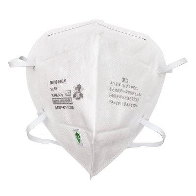 N95 Mask 3M 9010 9010CN KN95 Mascarilla Particulate Protective Safety Disposable Headband Face Mouth Original In Stock Not Medical