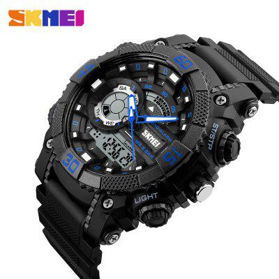 Fashion Dial Outdoor Sports Watches Men Electronic Quartz Digital Watch 50M Waterproof Wristwatches Relogio Masculino 1228