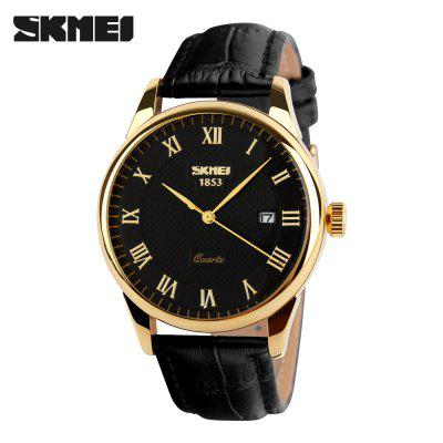Fashion Men 30M Waterproof Dress Watch British Style Business Casual Watches Quartz Date Display Sports Wristwatches