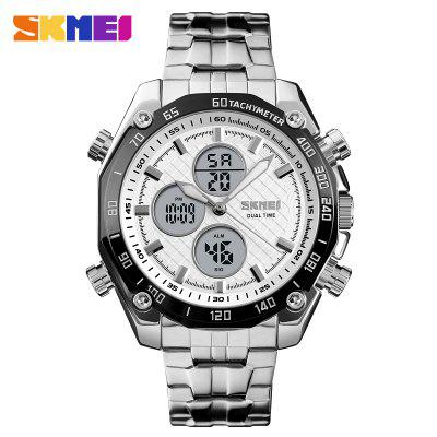 Top Luxury Brand Military Quartz Watches Stainless Steel LED Digital Clock Relogio Masculino