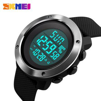 Fashion Men Sports Watches Chrono Double Time Digital Wristwatches Mens LED Electronic Clock Man