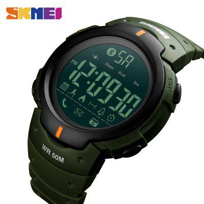 Fashion Smart Watch Men Calorie Alarm Clock Bluetooth Watches 5Bar Waterproof Digital