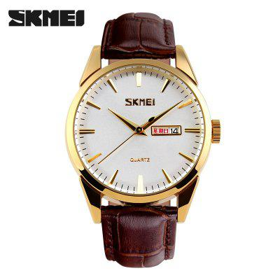 Fashion Men Women Watches Top Luxury Calendar Display Watch 3Bar Waterproof Couple Quartz Wristwatches