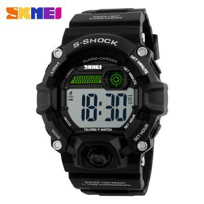 Men Watches Outdoor Sports Digital Watch Multifunction Trendy Army Military Clock LED New Popular Wristwatch