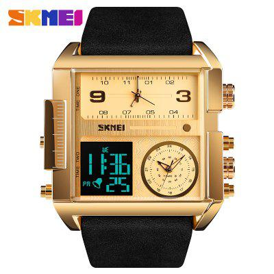 Luxury Top Men Quartz Analog Digital Sports Watches Fashion Military black Watch Mens Waterproof Clock