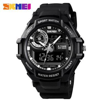 Luxury Brand Men Digital Watch Sports Watches Army Military Man Quartz Three Time Clock