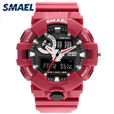 Top Luxury Brand SMAEL Men Sport Watches Mens Quartz LED Analog Clock Man Military Waterproof Wrist Watch relogio masculino