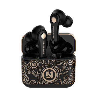 JZYB TS-100 Bluetooth 5.0 Heavy bass Wireless Earbuds with Surround Sound for Universal