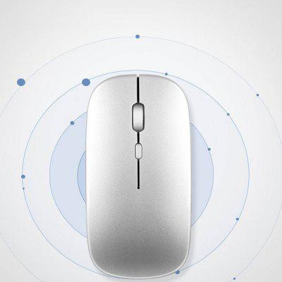 2.4G Wireless Rechargeable Charging Mouse Ultra-Thin Silent Mute Office Notebook Mice Opto-electronic For Home Dropship