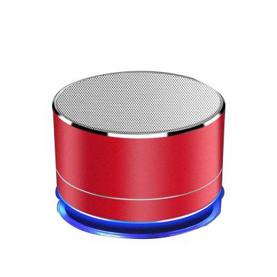 GETIHU Wireless Portable BluetSpeakerooth Speaker Mini LED Music  Audio TF USB FM Stereo Sound