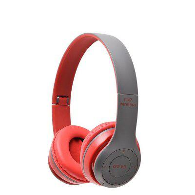 New Headphones Bluetooth Gaming Headset Noise Reduction Smart Audio Handsfree Wireless Foldable Earphone With Microphone