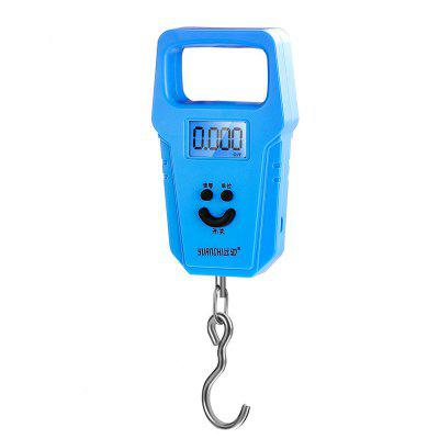 50KG Mini Portable Electronic Scale Weight Luggage Digital Travel Hanging Hook