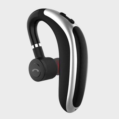 Wireless Bluetooth Earphones Stereo Headset  Single Handsfree With Microphone Business Headphones For Driving