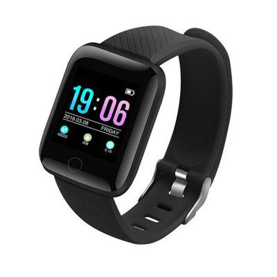 Smart Watch 116 Plus Color Screen Heart Rate Wristband Sports Watches Band Waterproof Smartwatch for Android iOS