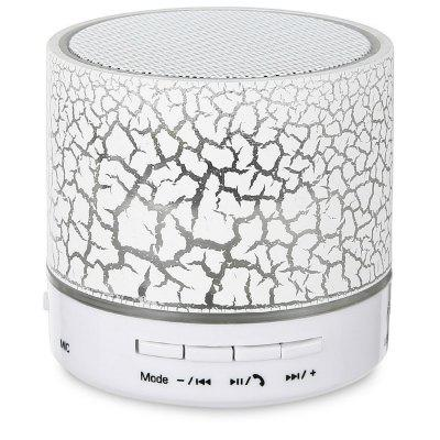 Mini Wireless Bluetooth Colorful Light Small Crack Sound Speaker Subwoofer Support TF Card