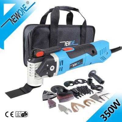 350W Quick Release Trimmer Tool Multi-Function Oscillating Saw Blade Electric Change Renovator Tools With Woodblades NEWON