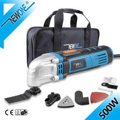 NEWONE 230V Oscillating Tool in 500W Multi-Tool With Saw Blades Variable Speed Function Trimmer Renovation