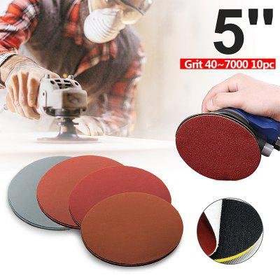 20pcs 125mm 5 inch Round Sanding Paper Disk Sand Sheets Disc Polish Grit 1000 1500 2000 3000 For abrasive tools