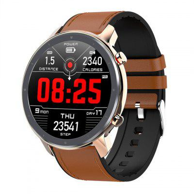 YUANCOOL  L11 Smart Watch Men ECG Heart Rate Monitor Full Round Touch Smartwatch IP68 Waterproof Music Contro Image