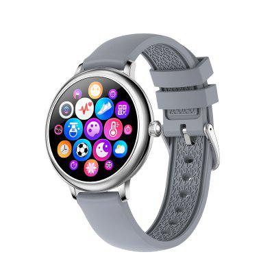 CF80 Women Smart Watch Full touch Screen Girl Smartwatch Heart Rate Blood Pressure Monitor Watches for Android IOS