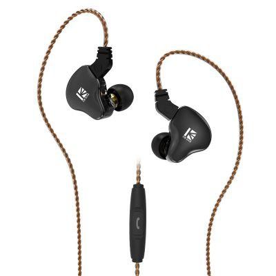 Фото - KBEAR KS2 Circle Iron HIFI Headset with Interchangeable Line mobile phone Universal headset with Wheat-China management of diabetes mellitus with indigenous herbal formulation