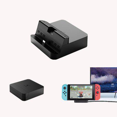 GuliKit Switch Dock Pocket Portable Base Station 4K HDMI Video Convertor NS05 for Nintendo Switch and Cellphone