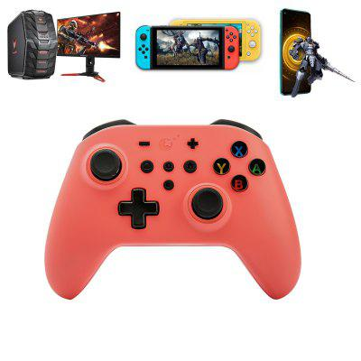 GuliKit King Kong Bluetooth Controller Wireless Gamepad Joysticks with Autopilot Gaming Motion Sense for Nintendo Switch / Lite PC Android Steam NS08 gen game s5 wireless bluetooth controller red with black